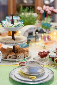 Tea Party Table by A Bit Of Whimsy And A Bit Of Elegance Come Together To Create This