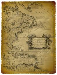 Map Of Eastern Caribbean by Old Map Of The Caribbean And The Eastern Coast Of Usa U2014 Stock