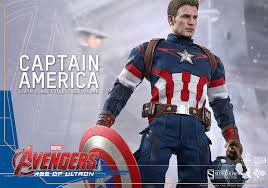 marvel captain america sixth scale figure toys sideshow
