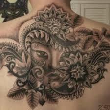 inkcover buddha face tattoo
