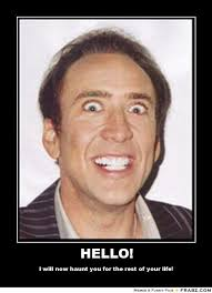 Nick Cage Memes - efm 2016 nicolas cage goes nuts for mom and dad dread central