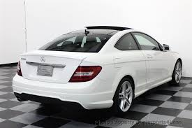 2013 mercedes c class c250 coupe 2013 used mercedes certified c250 amg sport coupe navigation