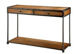 Sofa Tables Cheap by Bedroom Foxy Sedona Rustic Oak Sofa Table Slate Inlay Top