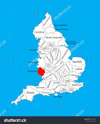 England County Map by Herefordshire England Map Diagram Get Free Images About World Maps