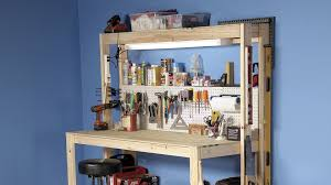 Most Popular Kit Home Design And Supply How To Build A Diy Workbench Super Simple 50 Bench Family Handyman