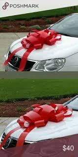 new car gift bow custom printed bow custom car bow sweet 16 sweet 16 bow