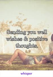 you well wishes positive thoughts