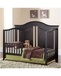 Convertible Crib Espresso Spectacular Deal On Rockland Convertible Crib Espresso