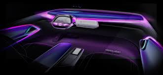 volkswagen purple official volkswagen i d crozz concept gtspirit