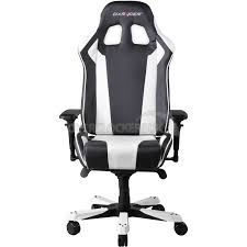 gaming chair black friday dxracer king series gaming chair black white oh kf06 nw ocuk