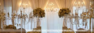 Wedding Arch Rentals Wedding Decor Vancouver Full Room Draping Centerpiece Flower