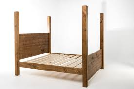 plank 4 poster 5ft king bed made in britain lpc furniture