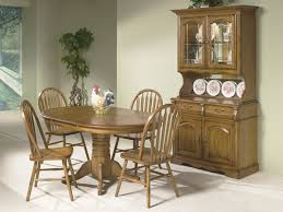 oak dining room set intercon dining room oak dining set 125211 furniture