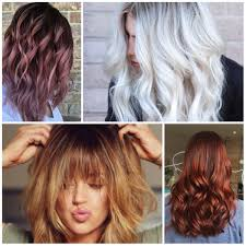 Colors In 2017 Best Hair Color Ideas U0026 Trends In 2017 2018