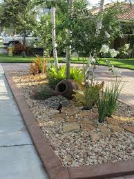 Landscaping Wood Chips by River Rock And Wood Chips Front Yard Google Search Doncha Come