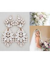 Chandelier Earrings Bridal Fall Into This Deal On Rose Gold Earrings Bridal Earrings Bridal