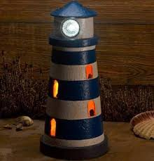 solar lighthouse garden ornament trading company