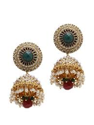 jhumki style earrings traditional jhumki style earrings buy online at a price of rs