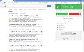 free anti virus tools freeware downloads and reviews from avast online security chrome web store