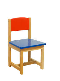 Toddler Wooden Chair Kid Chair Stock Photo Image Of Clipping Toddler Wooden 10212034