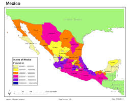 Mexico Map by Gis 2013 Maps Of Mexico Gis 4043 Week 3