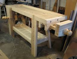 Work Bench With Vice Roubo Workbench A Woodworker U0027s Musings