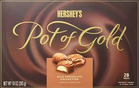 amazon com hershey u0027s pot of gold milk chocolate collection 10