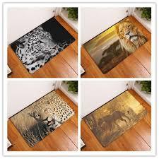 tapis de cuisine orange paillasson tapis léopard imprimer tapis de sol cuisine salle