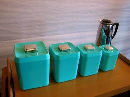 vintage kitchen canister sets kitchen glamorous turquoise kitchen canister set gre stuffgre