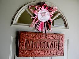 pink cheetah baby shower decorations pink and leopard print