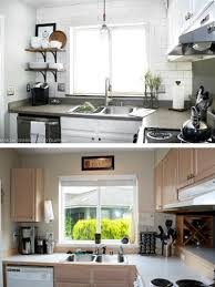 Small Kitchen Remodel Before And After Diy Kitchen Renovation Country Kitchen Decor Ideas