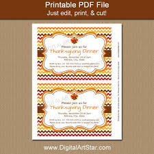 thanksgiving invitation template digital