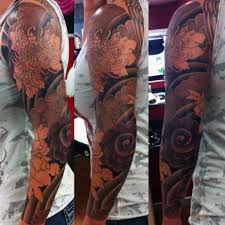 flower tattoos for men sleeves pictures to pin on pinterest