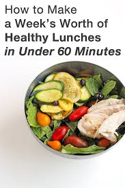 how to make healthy lunches in under 60 minutes in sonnet u0027s kitchen