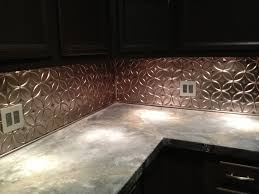 diy concrete countertop and new tin backsplash it u0027s finally done