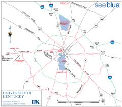 uky map cus guide of kentucky