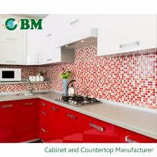 european style laminate frameless modular color combinations pvc