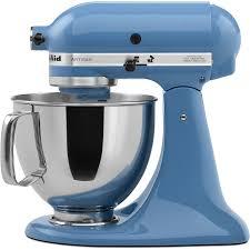 kitchen aid shop kitchenaid artisan series 5 quart 10 speed cornflower blue