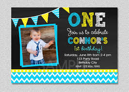 Birthday Invitation Cards For Kids First Birthday First Birthday Invitations 1st Birthday Invites For Boys 1st