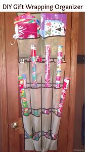 decorating interesting wrapping paper storage to setup your room