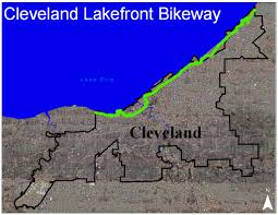 Cleveland Ohio Map by Cleveland City Planning Commission