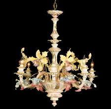 Italian Porcelain Chandelier Capodimonte Chandelier Ebay