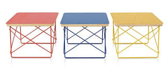 eames wire side table limited edition eames wire base low table