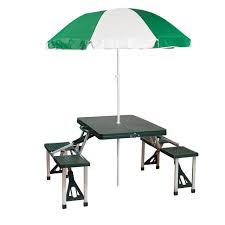 picnic table with umbrella stansport com