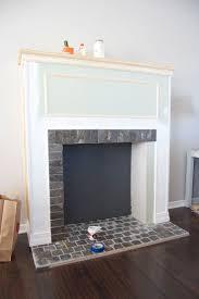 fake corner fireplace binhminh decoration