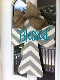 Door Hanger Design Ideas Best 25 Cross Door Hangers Ideas On Pinterest Painted Wooden
