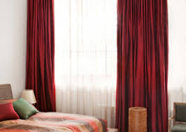 Black And White Striped Bedroom Curtains Curtains Creative Modern Red Curtain Ideas And Beautiful Red And