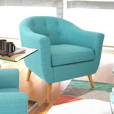 Mid Century Modern Sofa Legs by Turquoise Modern Mid Century Style Arm Chair With Solid Wood Legs