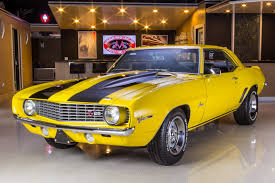 yellow chevy camaro for sale 1969 chevrolet camaro vanguard motor sales
