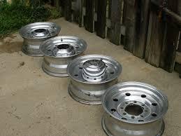 Ford F250 Truck Wheels - 96 f 250 aluminum wheels for trailer dodge diesel diesel truck